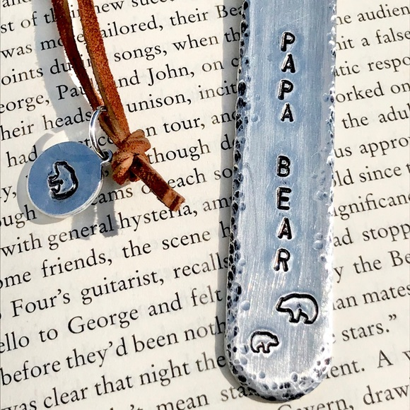 handmade Other - Hand stamped metal bookmark